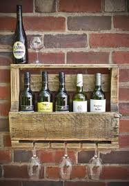 ideal and practical wall wine rack