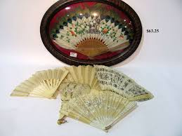 Oriental Wall Fans by Hap Moore Antiques Auctions
