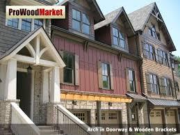 handmade front porch bracket by pro wood market custommade com