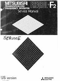 mitsubishi freqrol f2 service manual power inverter power supply
