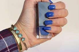 fotd blue nails and fishtails featuring fresh burberry and marc