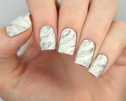 packapunchpolish white marble nail art with tutorial