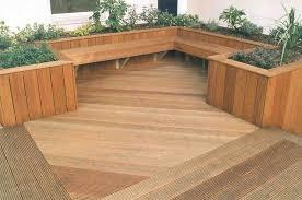 Deck Planters And Benches - garden decking designs outdoor greenery u0026 gardening pinterest