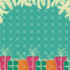 christmas gifts background clipart clipartfest