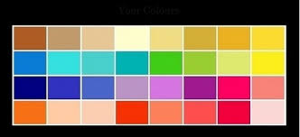 spring color 4 season color analysis