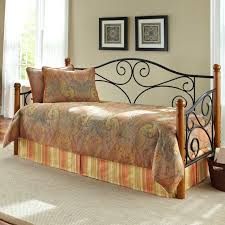 daybed iron daybed trundle lab traditional link spring wrought