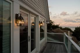 porch lights at dusk traditional veranda milwaukee by