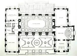 Gilded Age Mansions Floor Plans First Floor Plan Rosecliff Pinterest