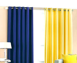 Yellow And Blue Curtains Yellow And Blue Kitchen Curtains Bartarin Site