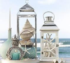 themed home decor nautical home decor theme sea shells starfish lanterns interior
