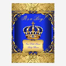 royal blue and gold baby shower custom royal baby shower invites templates babyfavors4u