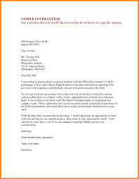 Cover Letter Examples Applying For A Job Sample For Cover Letter For Job Gallery Cover Letter Ideas