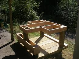 How To Build A Shooting Bench Out Of Wood Shooting Bench Plans Google Search Guns Shooting Bench