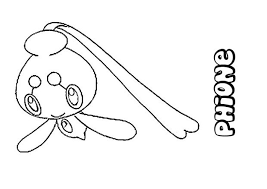 pokemon coloring pages rotom phione pokemon coloring page more pokemon coloring sheets on