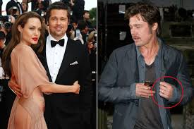 angelina jolie and brad pitt marry page six