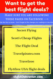 how to find the best travel flight deals the trotter