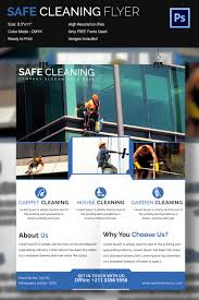 house cleaning flyer template psd format download free various