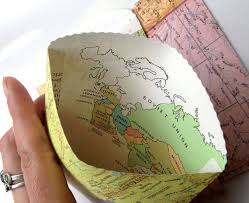 Map Favors by Customized Vintage World Map Wedding Invitations By Mossydog