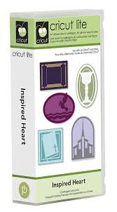 amazon com cricut lite cartridge inspired heart