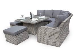 rattan corner sofa nottingham corner sofa dining outdoor rattan set whitewash