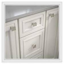 cosmas 6377sn c satin nickel u0026 clear glass square cabinet knob