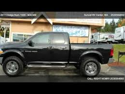 lifted 2011 dodge ram 1500 2011 dodge ram 1500 1500 4x4 lifted for sale in bonney lake