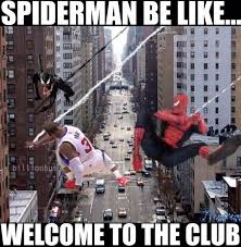 Funny Clippers Memes - chris paul is the new spiderman clippers http nbafunnymeme