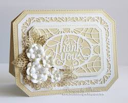designs by marisa thank you card craft dies by sue wilson