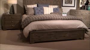 crafted bedroom set by fairmont designs youtube