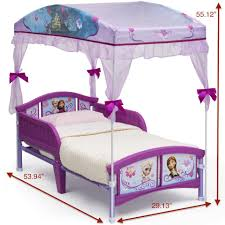 Minnie Mouse Canopy Toddler Bed Disney Frozen Canopy Toddler Bed Toys