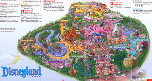 Disney California Adventure Map Disneyland Maps My Blog