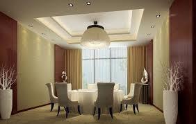 elegant cream curtain idea in cozy dining room design comfort
