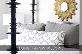 large sofa pillows roundup 6 great uses of long throw pillows curbly