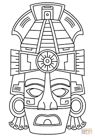 mayan free coloring pages on art coloring pages