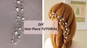 easy tutorial hair vine tiara headband bridal hair accessory youtube