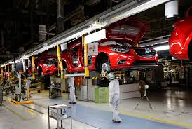 mazda line japan plant innovations boost mazda u0027s roll off rate the