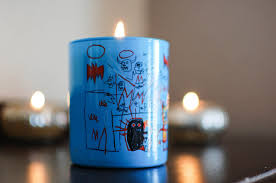 the redolent mermaid jean michel basquiat perfumed candle