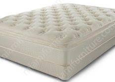 ideal double pillow top queen mattress 02b for home decoration