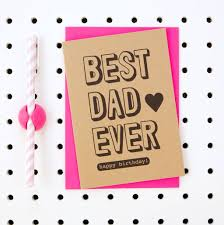 best dad ever happy birthday u0027 dad birthday card by scissor monkeys