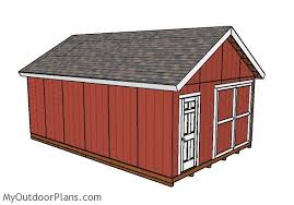 2 story storage shed with loft 16 x 24 floor plan small house 6 16x24 shed plans myoutdoorplans free woodworking plans and