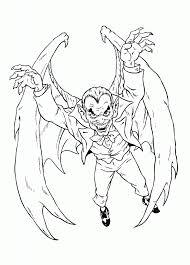 chic design super villain coloring pages 4 super villains