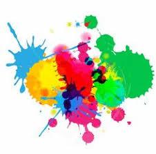 splashed colors vector graphic graphics design logo u0027s work