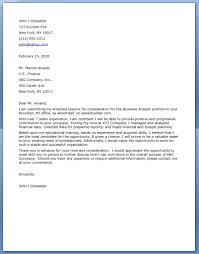 Resume Samples Analyst by Analyst Resume Sample Easy Samples Business Analyst Cover Letter