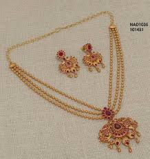 sr designer one gram gold jewellery sets 1800 shree lakshmi