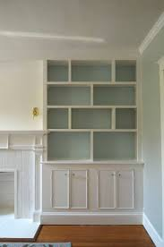 Fireplace Bookshelves by Best 20 Painted Built Ins Ideas On Pinterest Built In Shelves