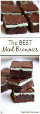 mint oreo brownies recipe mint oreo chocolate topping and