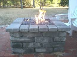 Old Fire Pit - how to build a propane fire pit