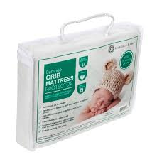 Baby Crib Mattress Pad Ultra Soft Waterproof Crib Mattress Protector Pad