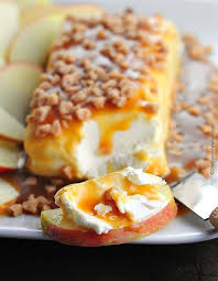 easy caramel apple cheese spread looks so and is