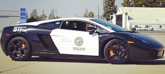 the lapd has a lamborghini cop car now because charity